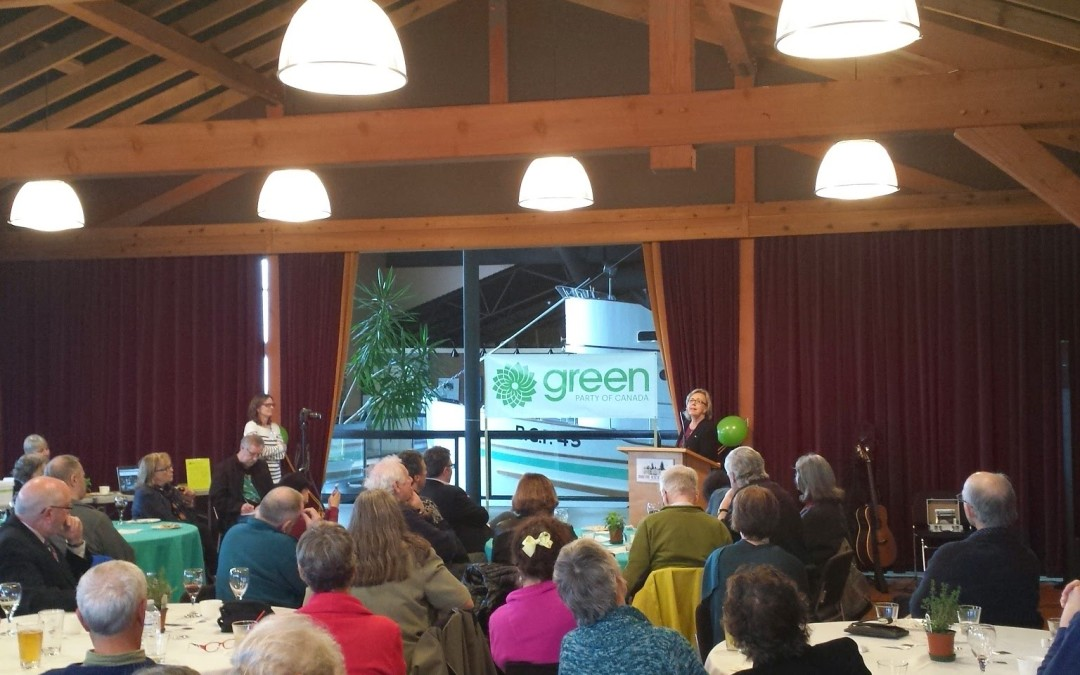 In 2015 the Greens will save Canada – Elizabeth May