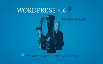 "WordPress Update 4.6 ""Pepper"""