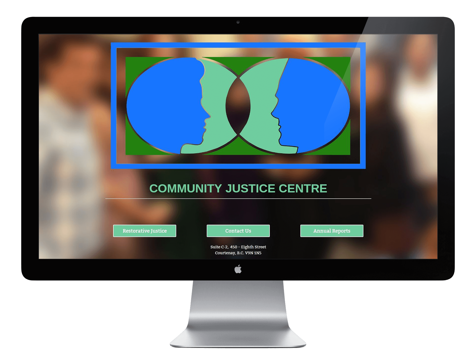 Community Justice Centre Website Screen Capture