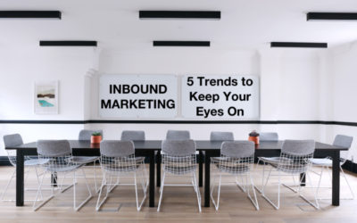 Inbound Marketing in 2017 – 5 Trends to Keep Your Eyes On