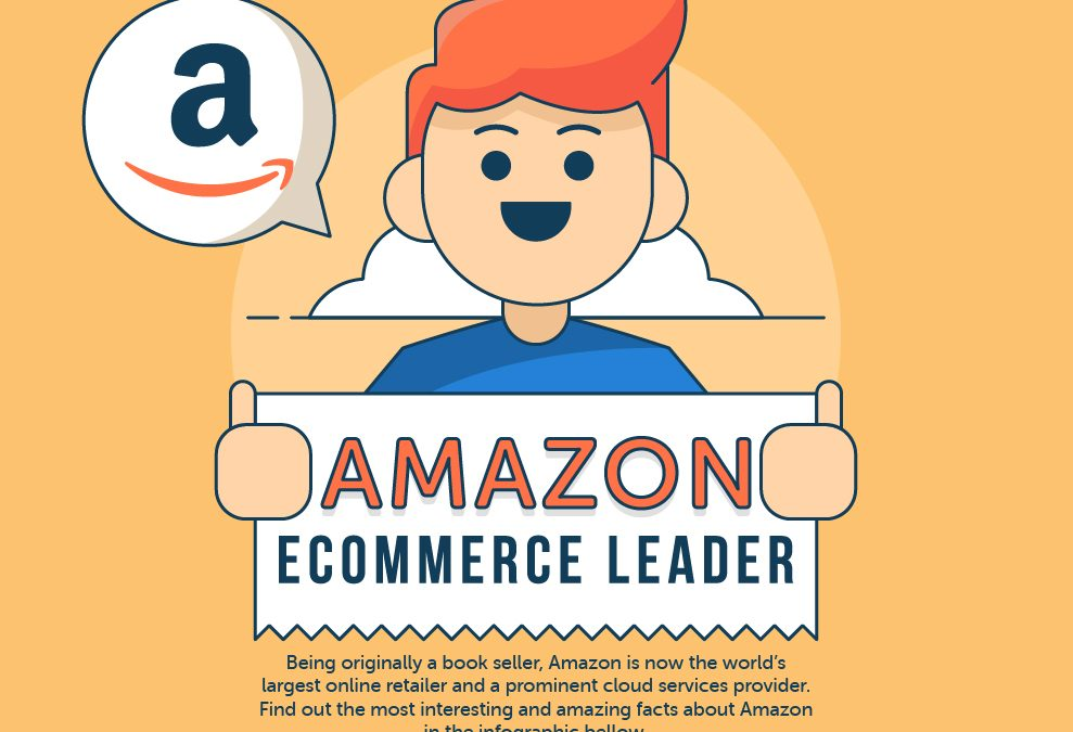 Amazon – An Ecommerce Giant (Infographic)