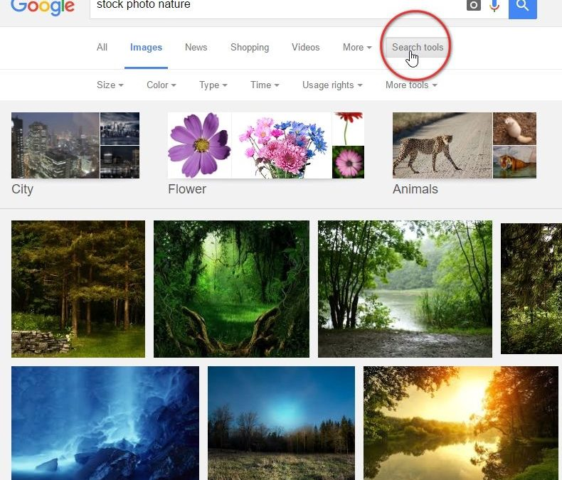 How and Where to Find Great Free Images
